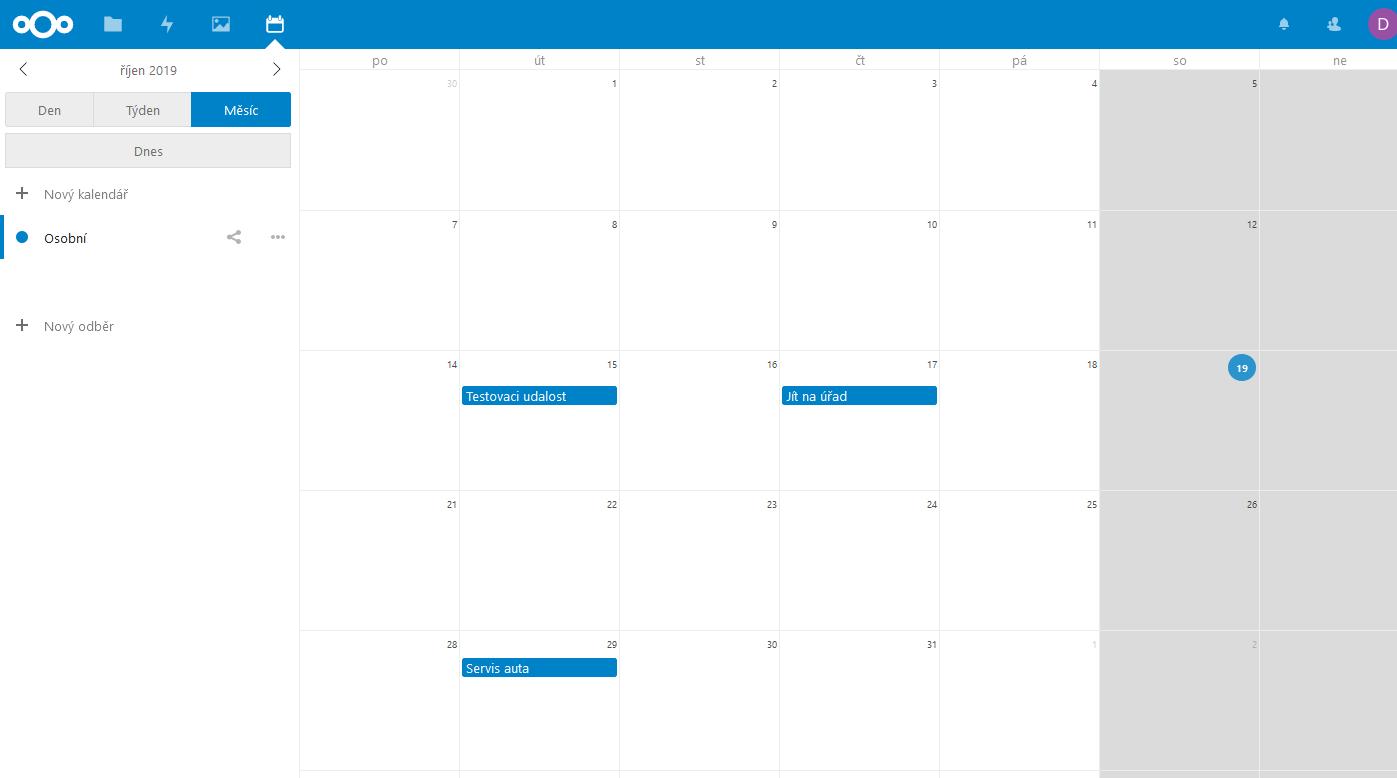 nextcloud-kalendar